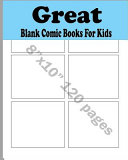 Download Blank Comic Books for Kids Book