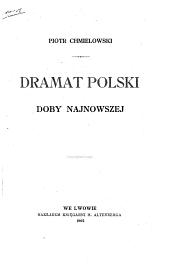 Dramat polski doby najnowszej
