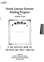 Family Literacy Summer Reading Program