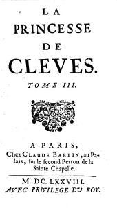 La Princesse De Clèves: Volumes3à4