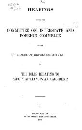 Hearings Before the Committee ...