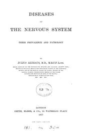 Diseases of the Nervous System: Their Prevalence and Pathology