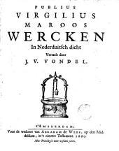 Publius Virgilius Maroos Wercken