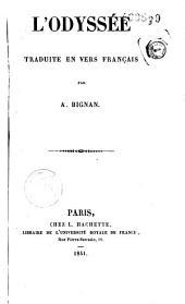 L'Odyssée traduite en vers français