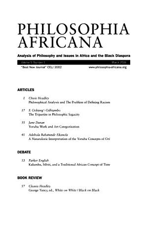 Philosophia Africana