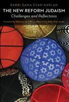 The New Reform Judaism PDF