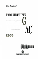 The Original Thoroughbred Times Racing Almanac 2005 PDF