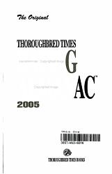 The Original Thoroughbred Times Racing Almanac 2005 PDF