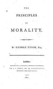 The Principles of Morality