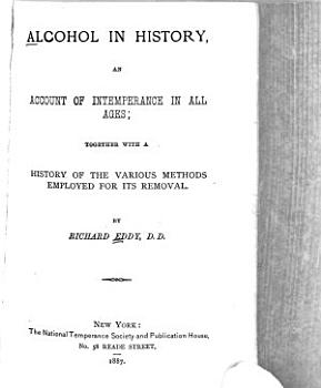 Alcohol in History PDF