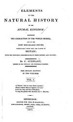 Elements Of The Natural History Of The Animal Kingdom Book PDF