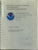 Steller Sea Lion Protection Measures