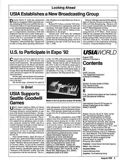 USIA World PDF