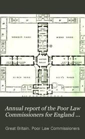 Annual Report of the Poor Law Commissioners for England and Wales: Volume 1; Volumes 1834-1835