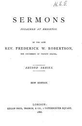Sermons Preached at Brighton: 1st-4th series