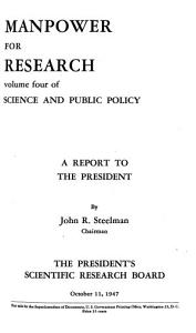 Science and Public Policy PDF