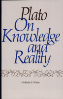 Plato on Knowledge and Reality PDF