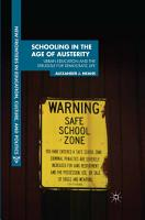 Schooling in the Age of Austerity PDF