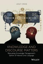 Knowledge and Discourse Matters PDF