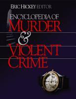 Encyclopedia of Murder and Violent Crime PDF