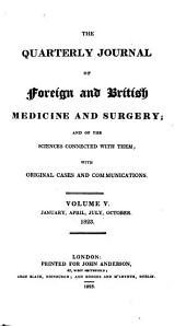 The Quarterly Journal of Foreign and British Medicine and Surgery