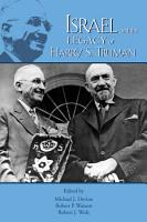 Israel and the Legacy of Harry S  Truman PDF