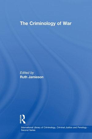 The Criminology of War PDF