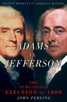 Adams vs  Jefferson PDF