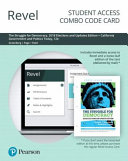 Revel for the Struggle for Democracy   California Government and Politics Today Combo Card PDF