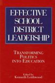 Effective School District Leadership