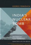India's Nuclear Bomb