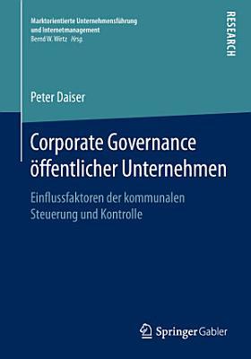 Corporate Governance   ffentlicher Unternehmen PDF