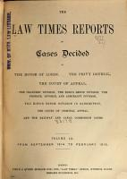 The Law Times Reports PDF