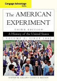 Cengage Advantage Books The American Experiment A History Of The United States Volume 2 Since 1865