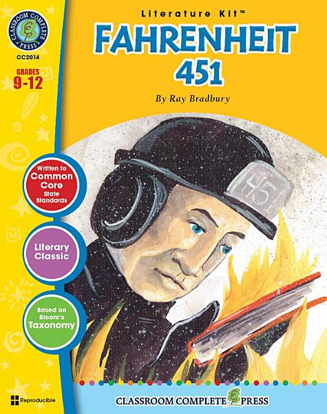Download Fahrenheit 451   Literature Kit Gr  9 12 Book