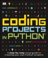 Coding Projects in Python PDF