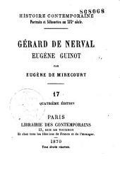 Gérard de Nerval. Eugène Guinot