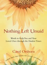 Nothing Left Unsaid Book PDF