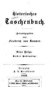 Historisches Taschenbuch: Band 2,Ausgaben 1-2