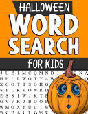 Halloween Word Search Puzzles for Kids