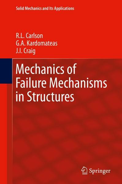 Mechanics of Failure Mechanisms in Structures PDF