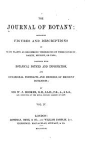 The Journal of Botany: Volume 4