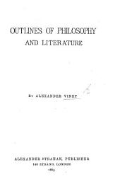 Outlines of Philosophy and Literature