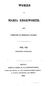 Works of Maria Edgeworth: Volume 7