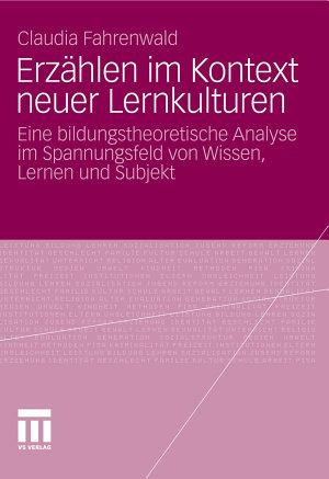 Erz  hlen im Kontext neuer Lernkulturen PDF