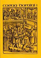 Coena Domini  Die Abendmahlsliturgie der Reformationskirchen im 16 PDF