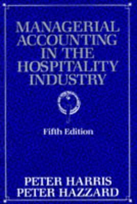 Managerial Accounting in the Hospitality Industry PDF