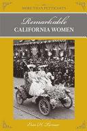 More Than Petticoats  Remarkable California Women  2nd PDF