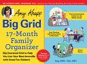 Amy Knapp's Big Grid Family Organizer 2021 Calenda