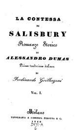 La contessa di Salisbury. Romanzo storico: 6,4.5